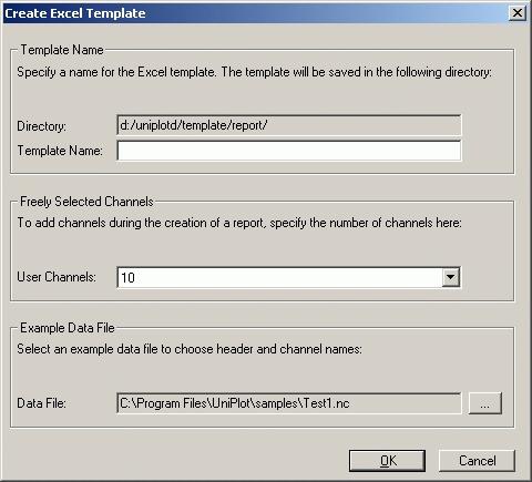 Report Templates — UniPlot Documentation