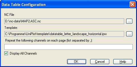 Filecreate data table uniplot documentation imagesdatatable config dialog en maxwellsz